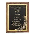 Antique Bronze Grecian Wreath Plaque Achievement Awards
