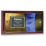 Curve Plaque Employee Awards
