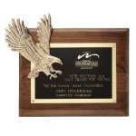 Soaring Eagle Plaque Patriotic Awards