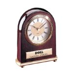 Rosewood Finish Clock Secretary Gift Awards