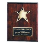 Star Plaque Star Awards